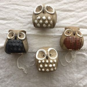 Other - Small Owl 🦉 Ceramic Figurines
